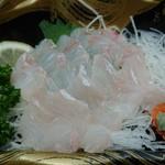 北浦臨海パーク きたうらら海市場 - ・いぎす(キジハタ) 518円(税込)
