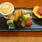 いっしん - 料理写真:前菜