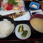 89706804 - ・おさしみ定食 1100円