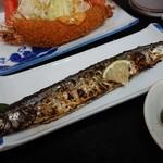 89706807 - ・秋刀魚の塩焼きが美味しかった