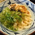 丸亀製麺 - とろろ醤油うどん・冷(並)…税込380円