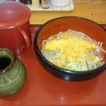 そば処 一源 - 料理写真:えび天ぶっかけそば  780円