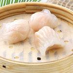 菊華飲茶館 - 33 海老入り蒸し餃子