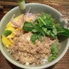 ヤマネコ - 料理写真:ラープ・ムーのどんぶり