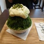 おいしい氷屋 - 抹茶マスカルポーネ(800円)