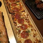 甘太郎 - ロングピザ