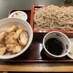 桂庵 - ミニとりどんセット750円