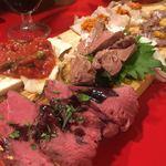 東京MEAT酒場 - 肉刺しの盛り合わせ 5種