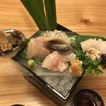 旬味 鮮心 魚屋 富重 - お造り