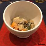 インコントラ・ヒラヤマ - 会津の郷土料理こづゆ風ミネストラ