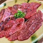 89716148 - 肉盛合せ