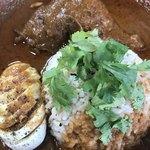 ハイダル - 鶏モモと玉子とご飯