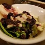 水炊き・焼鳥 とりいちず食堂 - 鶏とモッツァレラチーズ