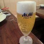 中国家常菜 胡同101 - サービスのグラスビール