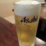 中国家常菜 胡同101 - 生ビール(380円)