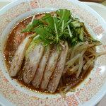 海鮮餃子 帆船 - バンバンジー麺