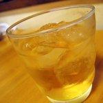 やじろべえ - 自家製梅酒「ロック」