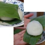 江口だんご - 料理写真:笹餅