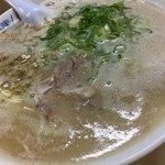 八ちゃんラーメン - 料理写真:らーめん(700円)