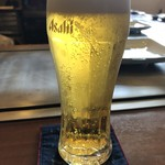 たくみ - まずは生で乾杯!