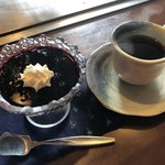 たくみ - 桑の実のゼリー・コーヒーで終了です