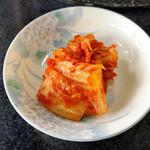 焼肉 牡丹園 - キムチ