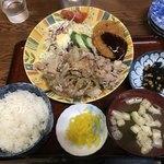 松の家 - おまかせ定食 730円