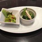 中国料理 桃李蹊 - 冷麺ランチの前菜