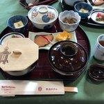 メインダイニングルーム 三笠 - 茶がゆ定食