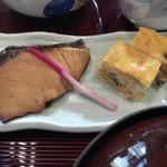 メインダイニングルーム 三笠 - 焼き魚