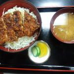 柏屋食堂 - 上名代ソースカツ丼