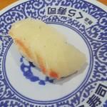 無添くら寿司 - 鯛 1貫 税込108円(2018.07.23)