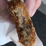肉のシラカワ - コロッケ断面