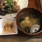 新潟バル 醸造屋 - スープは具だくさん。お替りもできまーす。