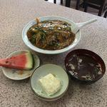 89731094 - 麻婆ナス丼('18/07/24)