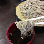 そばの里奈川 - ざるそばを麺ツユよりリフトUP!