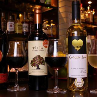 オススメはワインやカクテル◎女性が喜ぶドリンクが豊富♪