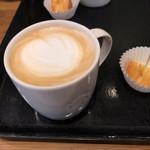スターバックス・コーヒー - ホットラテのアップ