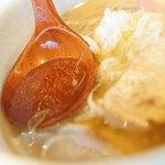 和だしらぁめん うめきち - スープ
