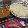Chahariresutoran - 料理写真:マトンカレー 4辛 チーズナンへ変更