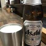 89735345 - ビールは中ビンでなんと400円ですよ!(2018.7.24)