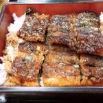 うなぎ魚徳 - 料理写真:うな重のうなぎはややふっくら系