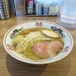 らーめん木蓮 - 料理写真:焼あご出汁の塩ラーメン(850円)