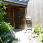 イトウヤカフェ - 外観 入口