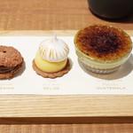 ダンデライオン・チョコレート - CHEF'S TASTING(1450円・外税)