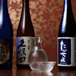 ◇久保田・たかちよ・緑川◇新潟の地酒を豊富に取り揃え