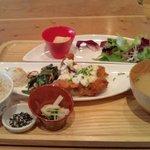 8974468 - 鶏の南蛮揚げ味噌タルタル定食