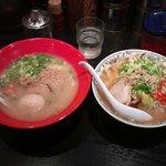 8974493 - 塩豚骨と野菜味噌