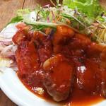 洋食の朝日 - ポークチャップ