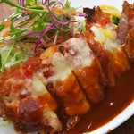 洋食の朝日 - ブタのヘレチーズ焼き